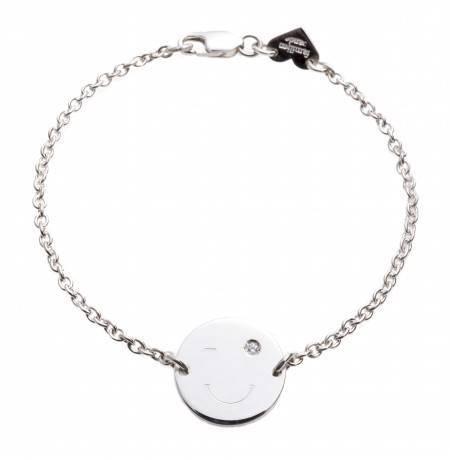 Bracelet_smiley_BLINK_silver