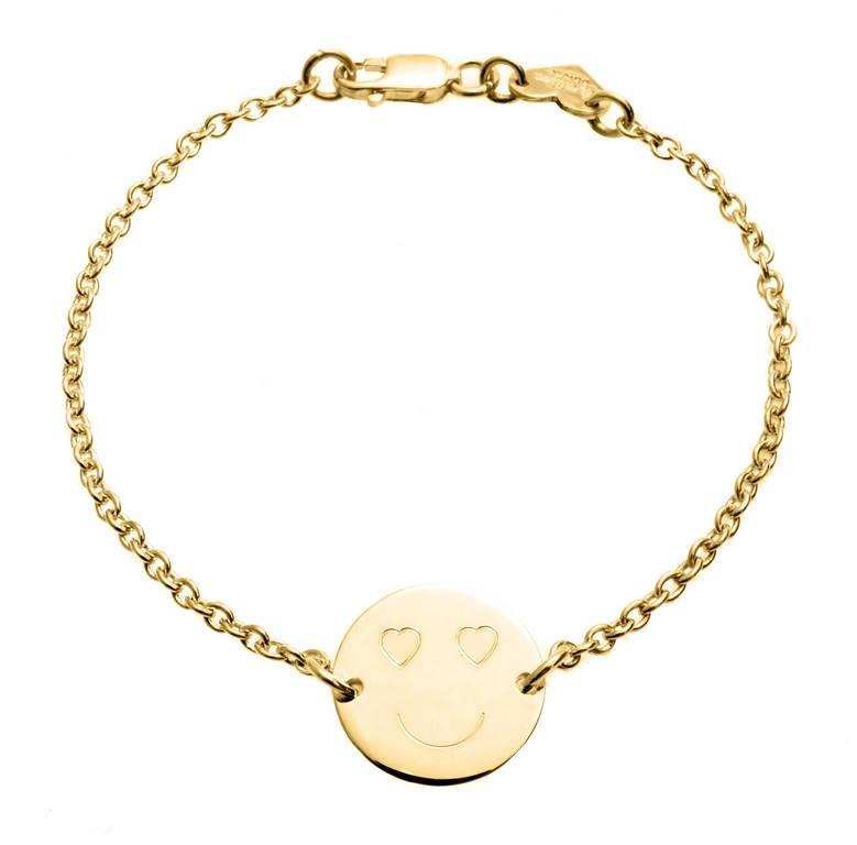 bracelet gold products of heart makarojewelry