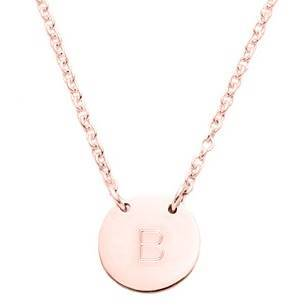 Necklace_1medal_InBetween_rose_SCHNITT