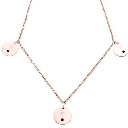 necklace_pinkgold_3circles_diamonds_negre-kopie