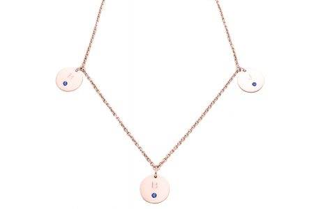 necklace_pinkgold_3circles_diamonds_zafiro-kopie