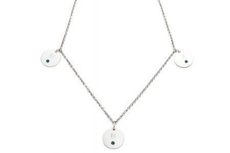 necklace_silver_3circle_diamonds_esmeralda-kopie
