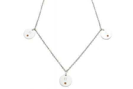 necklace_silver_3circle_diamonds_marron-kopie