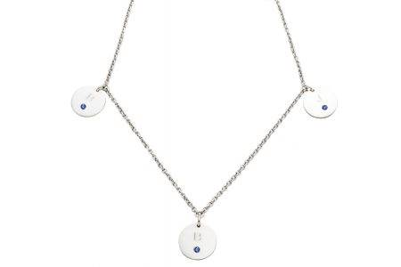 necklace_silver_3circle_diamonds_zafiro-kopie