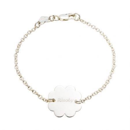 Bracelet2,2_Clover_Silver