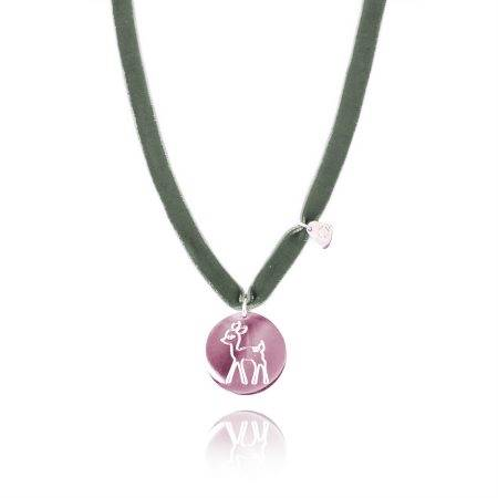 BAMBInecklace_GreenPink