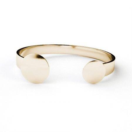 Bracelet_2circle_oro